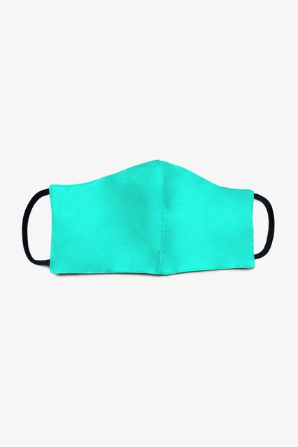 face mask / turquoise