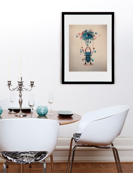 Dawn- Numbered Art Print by Wlop from Curioos