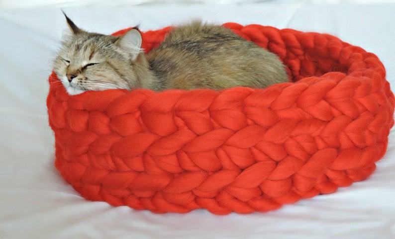 Cat Bed Cat House Chunky Cat Bed Chunky Cat House Chunky