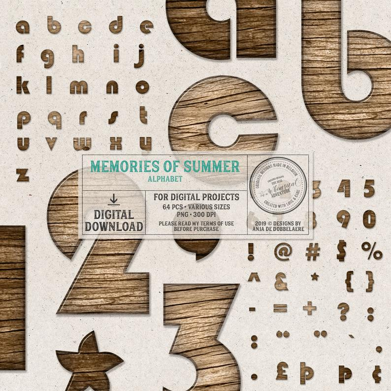 Chunky Wood Alphabet Letters Lowercase Alphabet Wooden