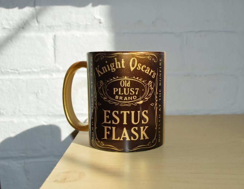 Estus Flask Golden Coffee Mug Kindle the Flame from