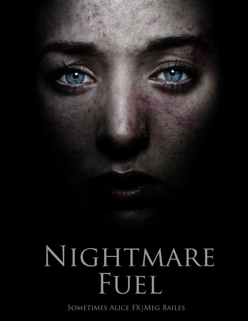 Nightmare Fuel  Limited Edition  Horror Photo Book