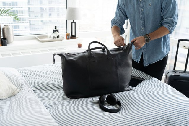 Personalized New York Weekender Bag