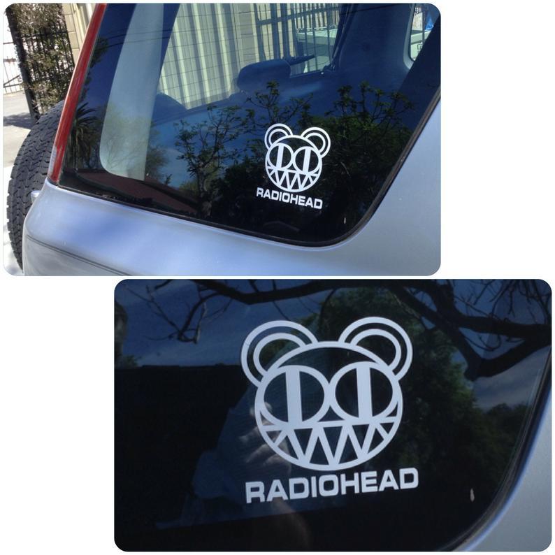 Radiohead Vinyl decal
