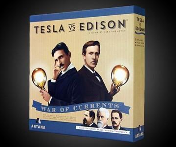 Tesla vs. Edison Board Game