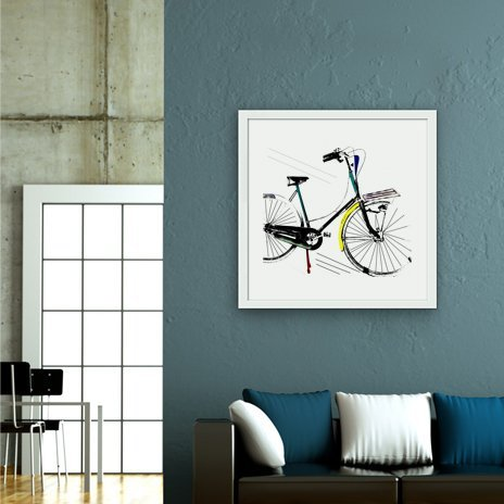retro  ride , Fine Art Print by Bri Buckley