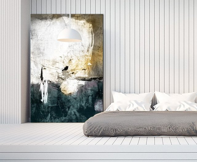 All through the Night Giant Canvas Print