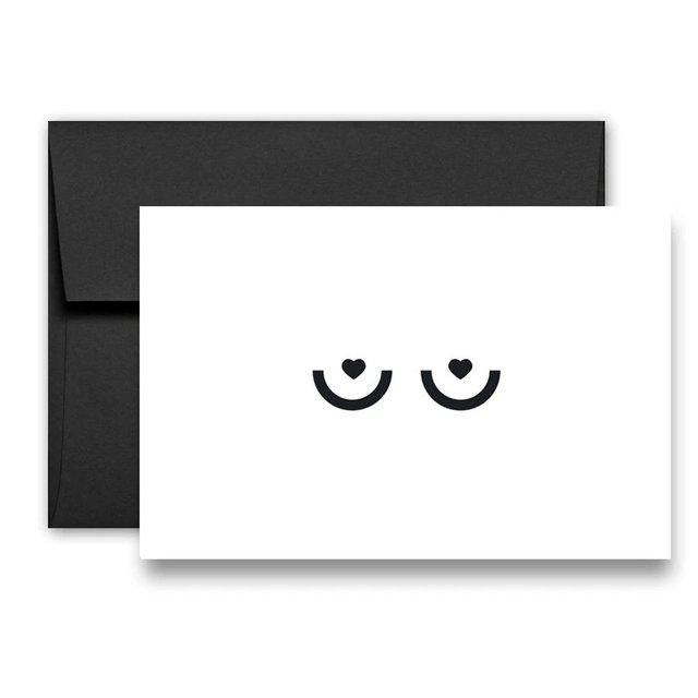 BOOBIES – Greeting Card