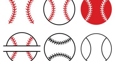 Baseball SVGBaseball SVG Cut filesBaseball monogram for