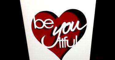 Beyoutiful Greeting Card Valentine Anniversary Card First