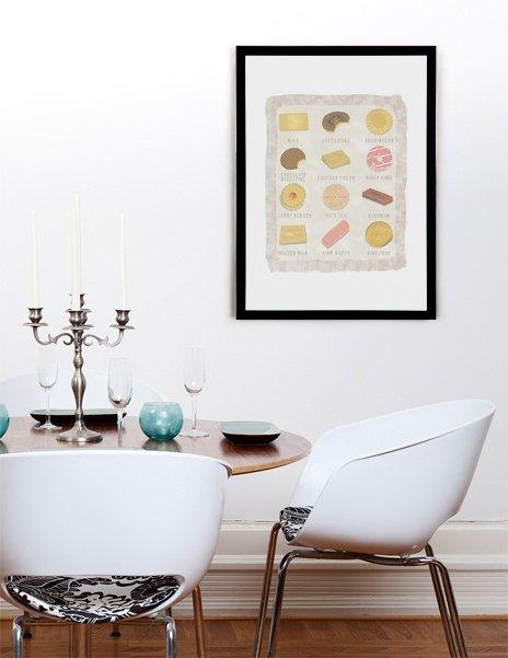 Biscuits, Fine Art Print by Kiley Victoria Woolgar