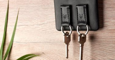 Black Magnetic Wall Key Holder