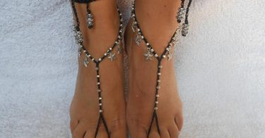Crochet Barefoot Sandals Beach Wedding  Yoga Shoes Foot
