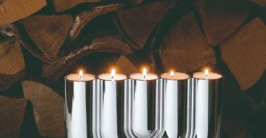 DOUBLE U Tealight Holder