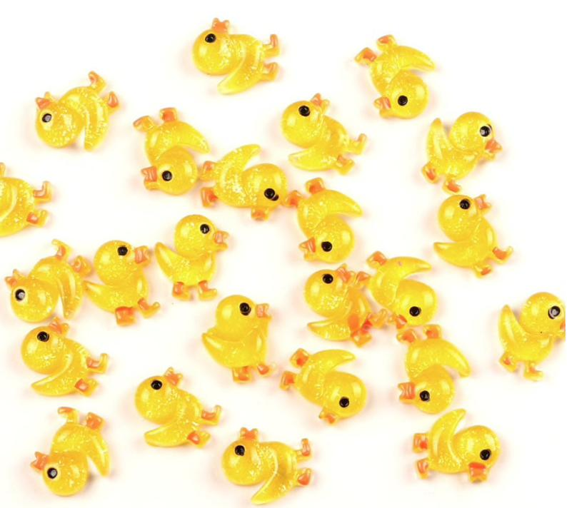 DUCK SLIME charms resin cloud slime butter slime instant snow