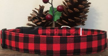 Dog Collar buffalo plaid dog collar buffalo plaid collar