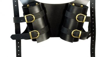 Dual LARP Sword Back Harness  Double Sword Holder  DK1055