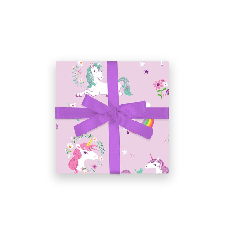 GIFT WRAP  Unicorns & Rainbows