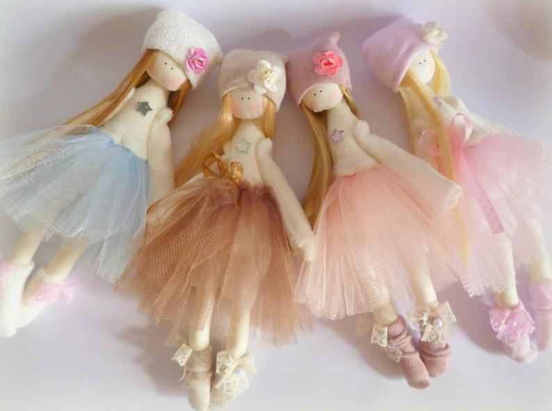 Handmade doll Tilda dolls Decorative Doll Shabby Chic