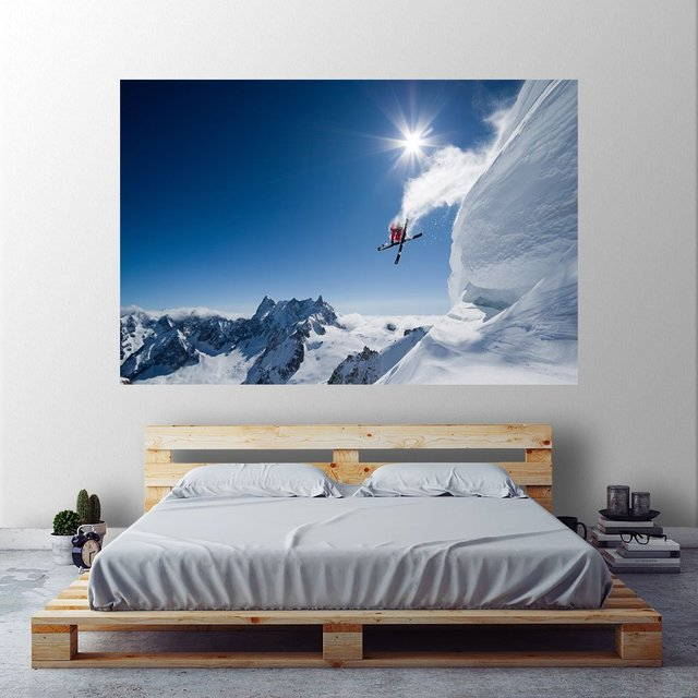 Higher, Canvas embossed Self-Adhesive Vinyl 72 x 48 inches