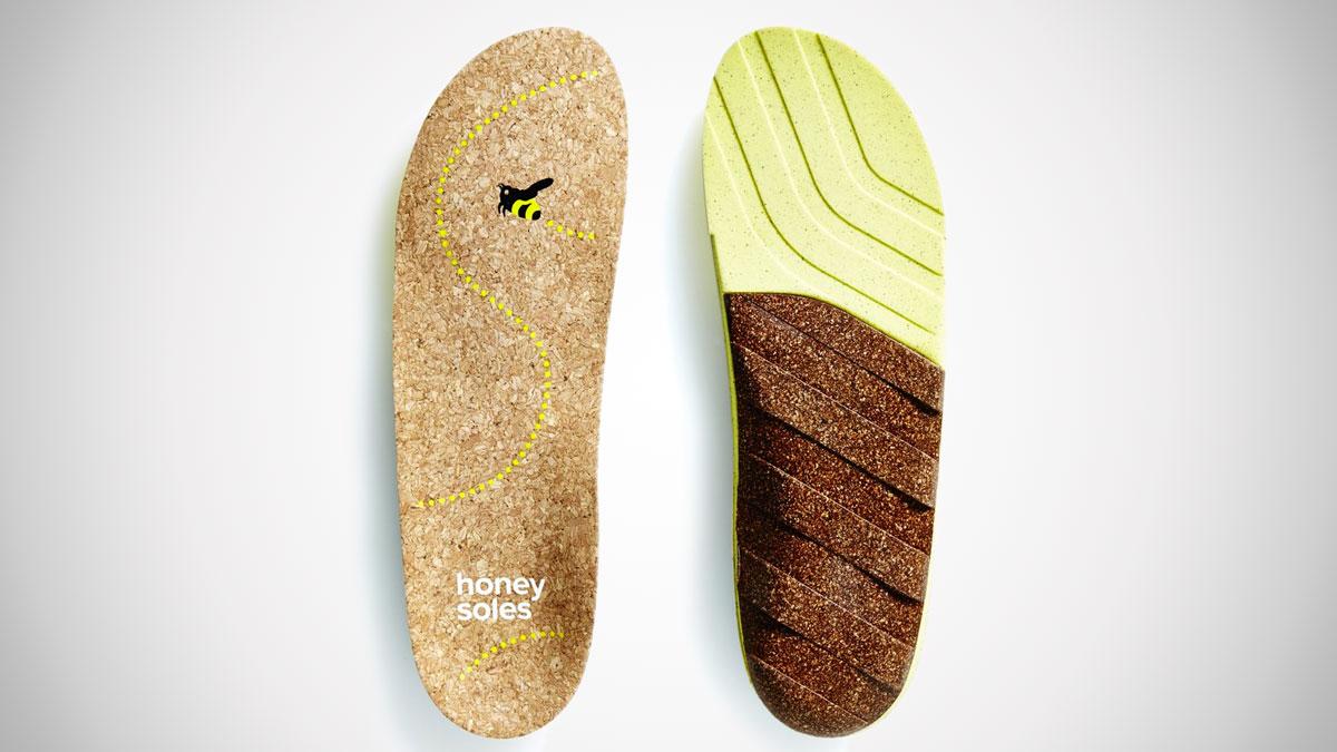 Honey Soles – Natural Cork Shoe Insoles