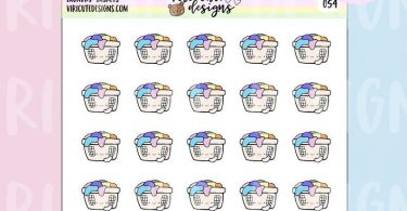 Kawaii Laundry Baskets  054  Laundry Chores Cleaning