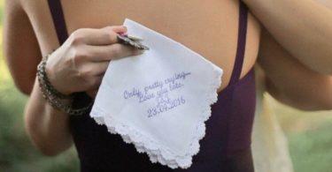 Lace Handkerchief  Lace Hankie  Custom Handkerchief