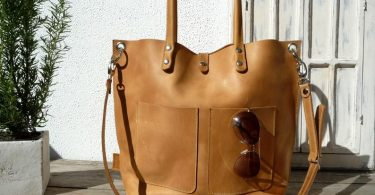 Large leather bag Leather bag Shoulder bag leather Leather