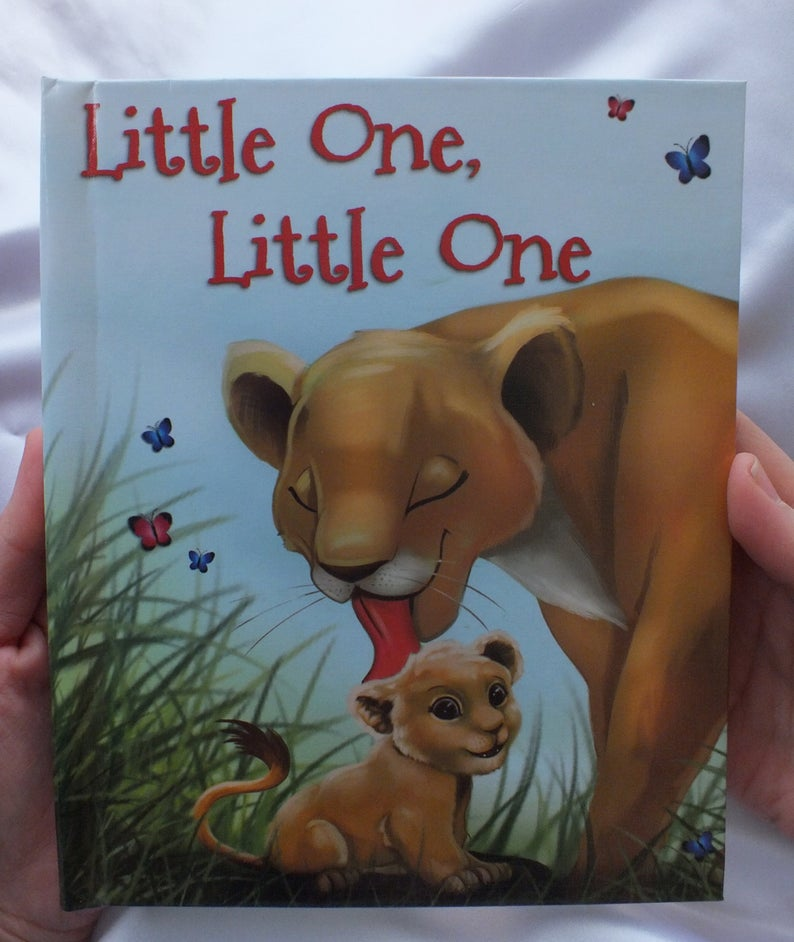 Little One Little One personalized book. A book about