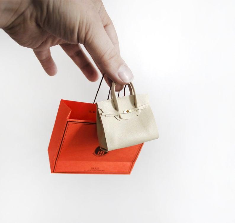 Mini French large handbag