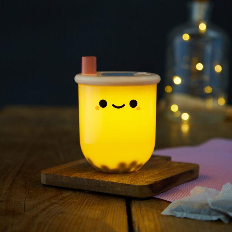 Pearl Boba Tea Light