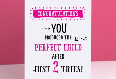 Perfect Child Mothers Day Card