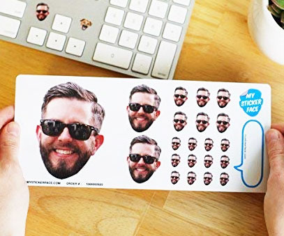 Personalized Face Stickers