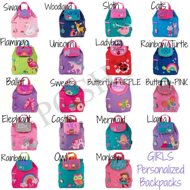 Personalized Kids backpack Toddler Backpack Monogrammed