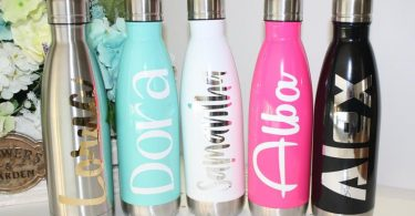 Personalized Stainless Steel Water Bottle 17 oz. Bridesmaid