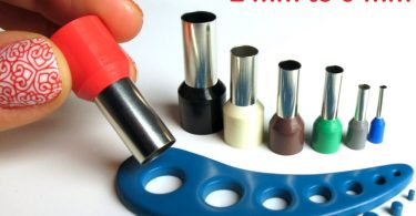 Polymer clay mini circle cutters set kemper style no seams