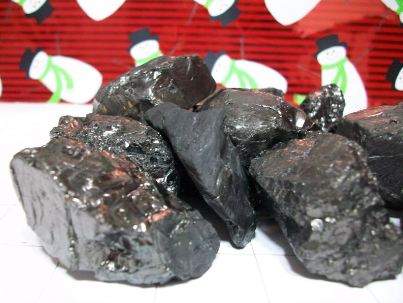 Real Anthracite Lumps of Coal 12 Pieces For Sale