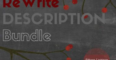 Rewrite Description Writing  Bundle  Listing Description