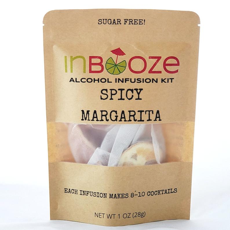 Spicy Margarita Cocktail Kit to Infuse Tequila by InBooze