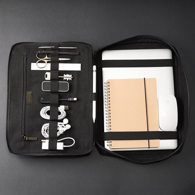 Tech Laptop Tablet Bag Green