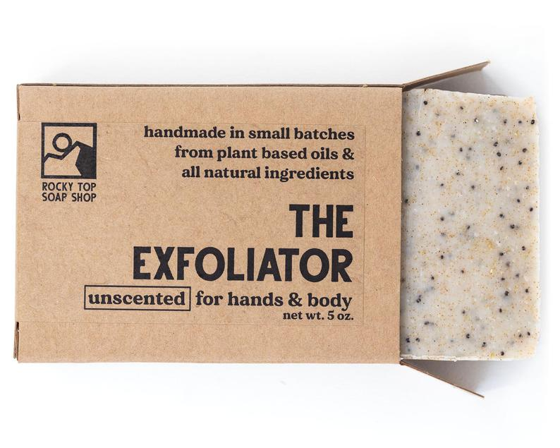 The Exfoliator  Scrub Soap Exfoliating Soap Bar All Natural