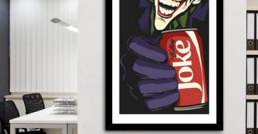 The Killing Coke Print by Butcher Billy