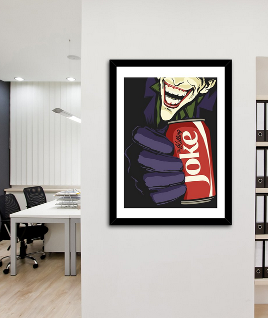 The Killing Coke Print by Butcher Billy