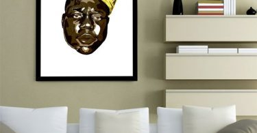 The Notorious BIG Print by Delando Limoen