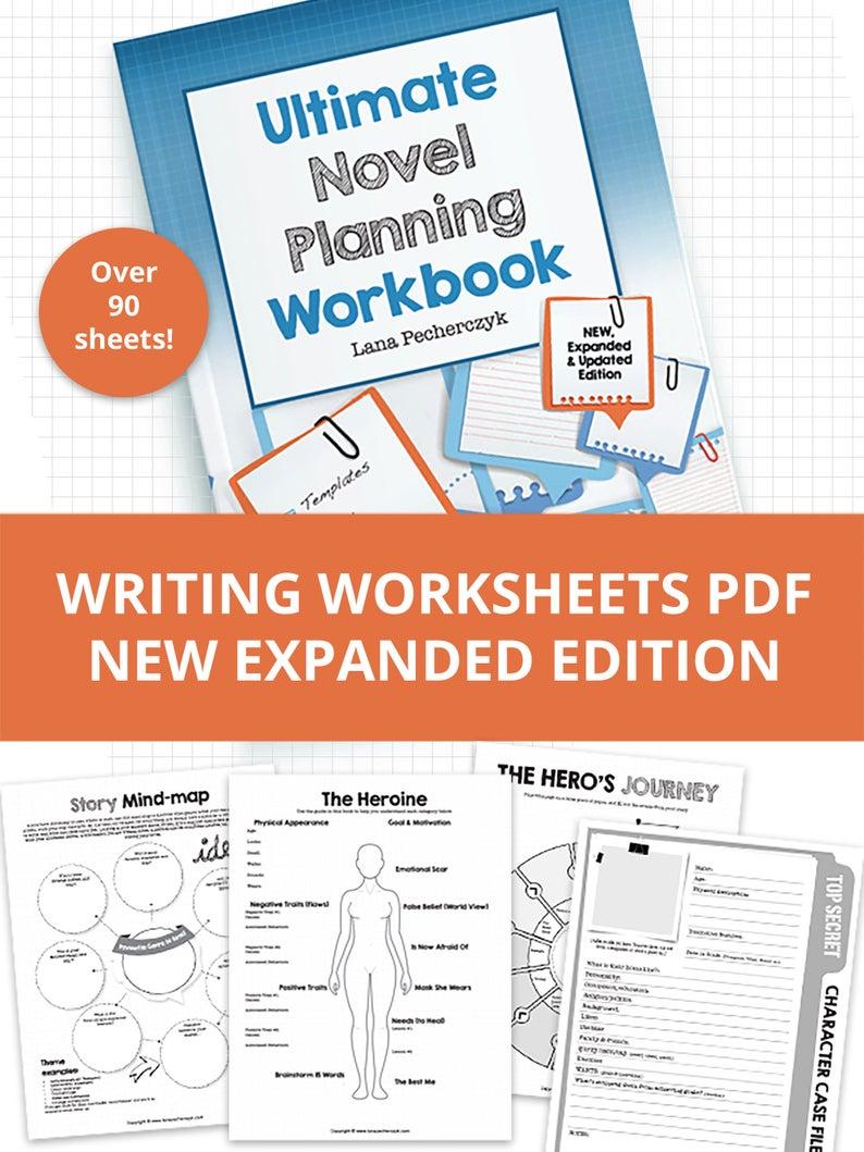 Ultimate Novel Planning Workbook  2019 Edition Companion
