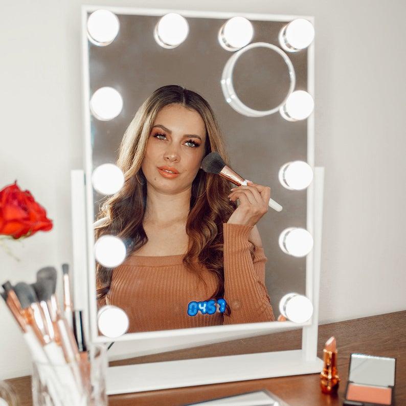 Vanity Mirror with Lights  Professional Hollywood Vanity