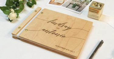 Wedding Guest Book Photobooth Guest Book Gold Wedding