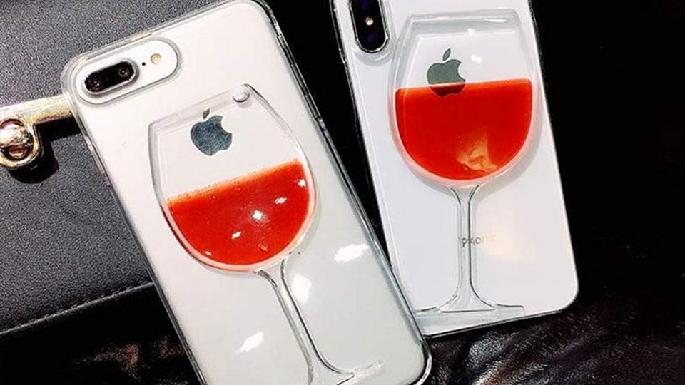 Wine Lover's iPhone Case