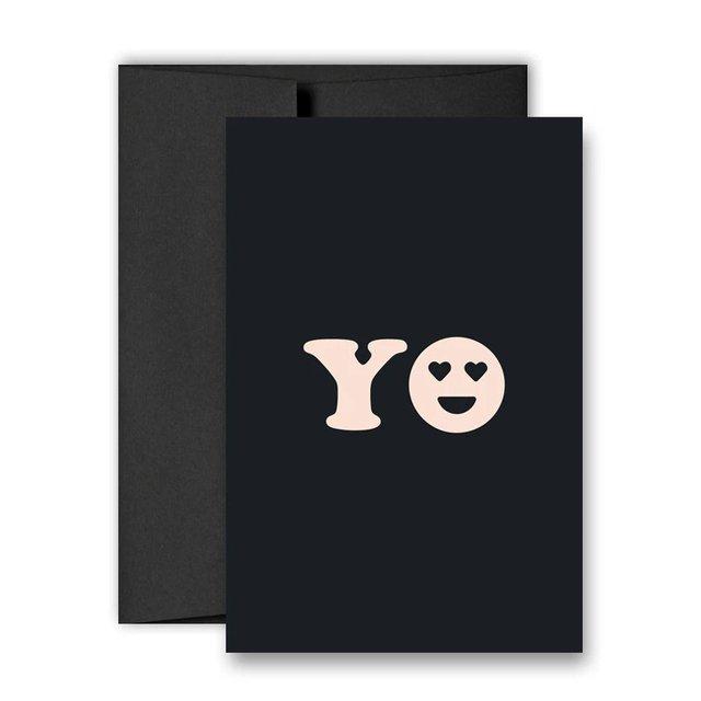 YO – Greeting Card