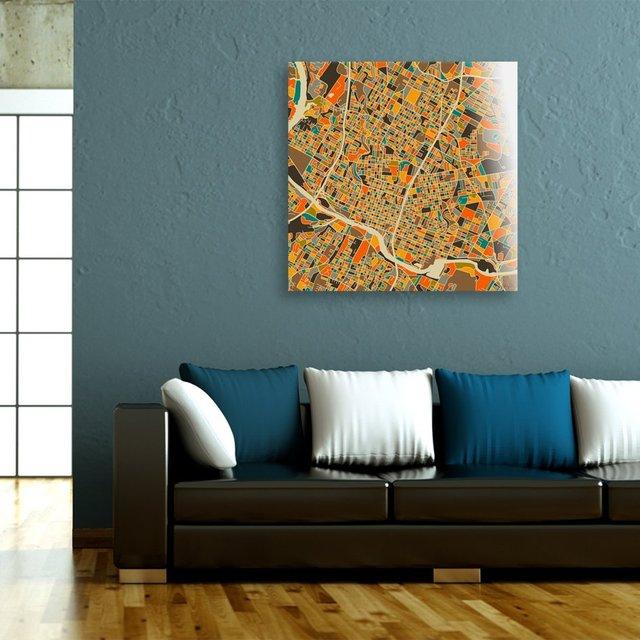 Austin Texas, Acrylic Glass Print by Jazzberry Blue